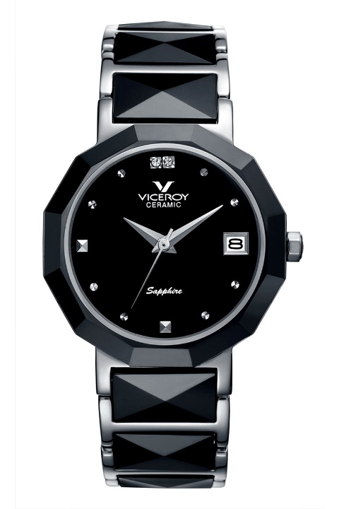 Viceroy Ceramic and Sapphire Mothers Day Watch - 47576-57